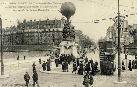 PARIS UNPLUGGED: 1900 - Le ballon de la Porte des Ternes | GenealoNet | Scoop.it