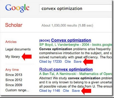 This Is How to Create A Library in Google Scholar ~ Educational Technology and Mobile Learning | Changing Nations | Scoop.it