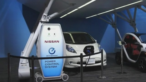 Nissan says Leaf charger will start powering homes in July, details new battery (video) | Nerd Vittles Daily Dump | Scoop.it