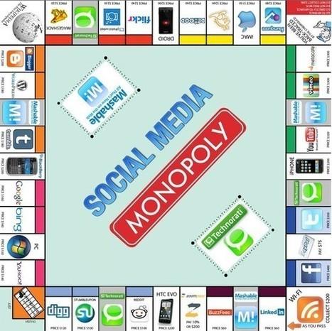 Social Media Monopoly (Infographics) | WEBOLUTION! | Scoop.it