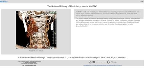 La NLM presentaMedPix®, una base de datos gratuita de imágenes médicas | Salud Publica | Scoop.it