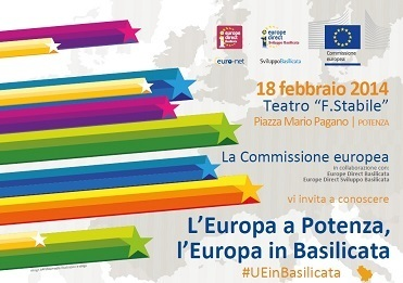 L'Europa in Basilicata - event of 18/02/2014 in Potenza | European events | Scoop.it