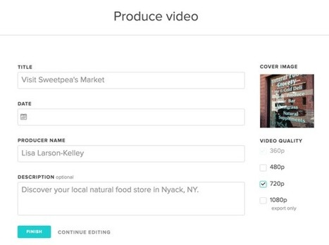 3 Video Storytelling Tools for Social Marketers | Social Media News | Scoop.it