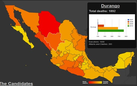 Mapping Mexico's gang violence | Geography In the News | Scoop.it