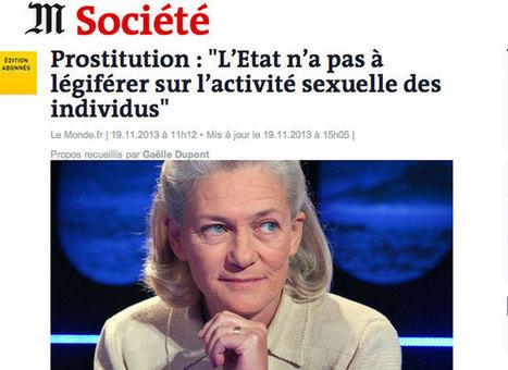 Prostitution : l'étrange défense d'Élisabeth Badinter - Politis   #Prostitution : Enjeux politiques et sociétaux (French AND English)   Scoop.it