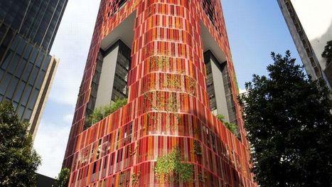 Une tour végétalisée pour absorber la pollution urbaine   Toiture terrasse végétalisée   Scoop.it
