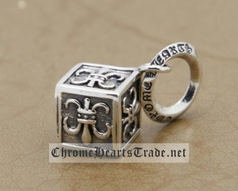 Fashion Chrome Hearts 925 Silver Scout Flowers Cubical Pendant [chrome hearts Pendant] - $129.00 : Chrome Hearts Trade | Buy Chrome Hearts Online Shop | prom dress | Scoop.it