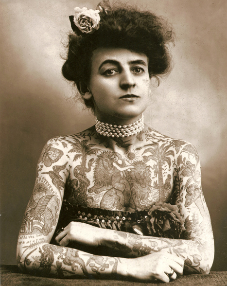 Slide Show: A Secret History of Women and Tattoo | Voices in the Feminine - Digital Delights | Scoop.it