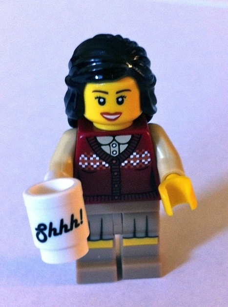LEGO Librarians with Unique, Quirky Personalities - My Modern ... | Academic Libraries | Scoop.it