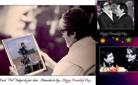 Amitabh Bachchan wishes Dharmendra, Shatrughan Sinha on friendship's day | Entertainment News | Scoop.it