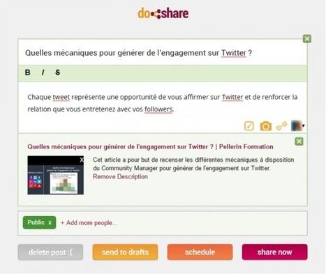 7 bons outils d'automatisation pour gagner du temps sur les réseaux sociaux | Pellerin Formation | Boite à outils web | Scoop.it