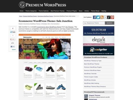 Ecommerce WordPress Theme: Sale Junction – PremiumWP | Digital-News on Scoop.it today | Scoop.it
