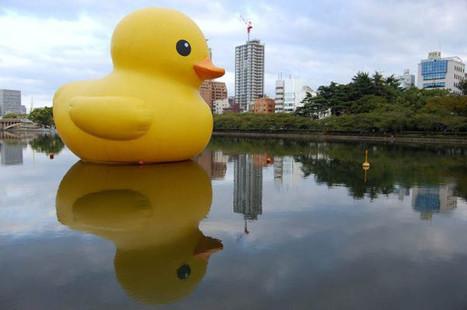 The World Travels of a Giant Rubber Duck | rakarekodamadama | Scoop.it