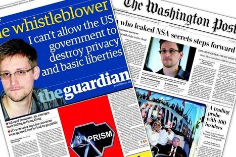 Espionnage parla NSA: les dessous d'un scoop àlagrimace | Les médias face à leur destin | Scoop.it