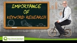 Importance of Keyword Research | asiavirtualsolutions | Scoop.it