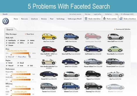 5 Web Design Problems With Faceted Search | Design Revolution | Scoop.it