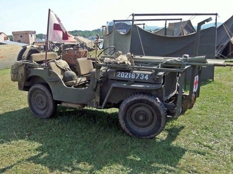 Willys MB Ambulance Jeep – Walk Around | History Around the Net | Scoop.it