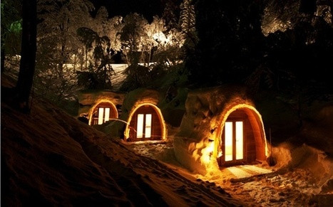 Eco POD Hotel in Switzerland | sustainable architecture | Scoop.it