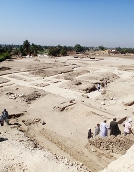 """The """"temple of millions of years"""" of Tausret, Egypt's forgotten female pharaoh 
