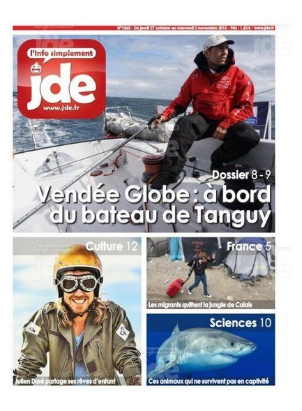 JDE n°1565 (27 octobre au 2 novembre) | Les revues de la médiathèque | Scoop.it