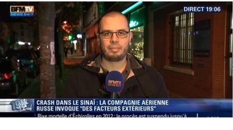 Pourquoi BFM-TV se sépare de Romain Caillet, son «consultant djihadisme» | DocPresseESJ | Scoop.it