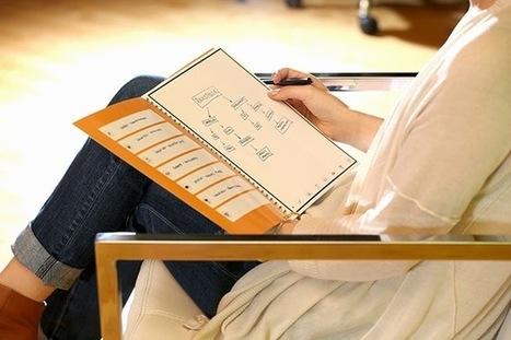O caderno especial que guarda automaticamente o que escreves | Criatividade, inovação, marketing | Scoop.it