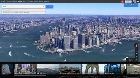 Google I/O 2013: Google Maps Updated with Improved Navigation, Earth Integration, and Suggestions | maisGEO | Scoop.it