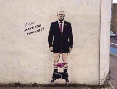 Max Clifford caught with his pants down in street art as new claims made | Amazing Art | Scoop.it