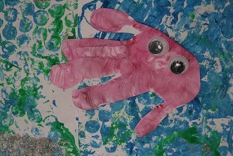 The Imagination Tree: Bubblewrap Print Seascape   Teach Preschool   Scoop.it