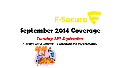 September 2014 Coverage (23rd) | F-Secure Coverage (UK) | Scoop.it