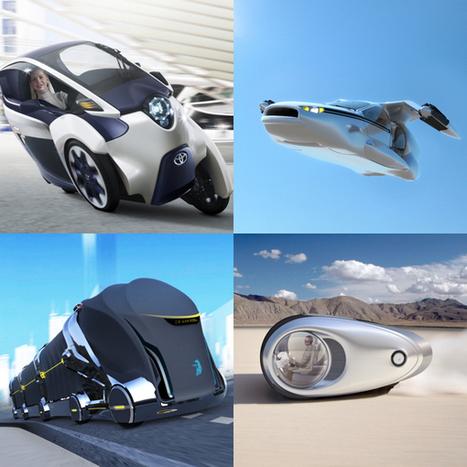 12 concepts pour le transport du futur | Systèmes énergétiques du futur | Scoop.it