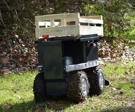 Les robots sont dans le pré | Planète Robots | Quels potentiels pour le zéro-herbicide? | Scoop.it