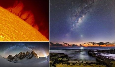 Les plus beaux clichés astronomiques de l'année 2016 | The Blog's Revue by OlivierSC | Scoop.it