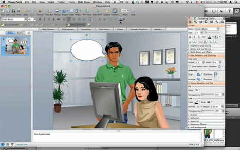 Create Comic Books with Microsoft PowerPoint | Moodle and Web 2.0 | Scoop.it
