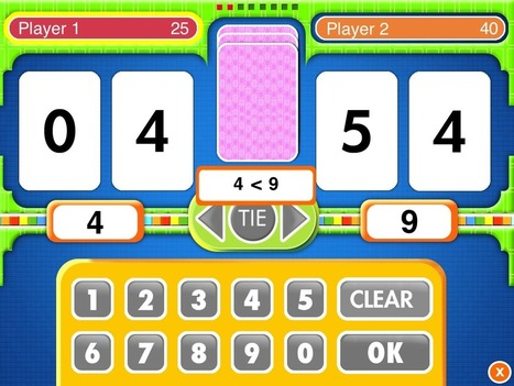 10 Great Math Apps for Young Children | Maths for K-3 students | Scoop.it