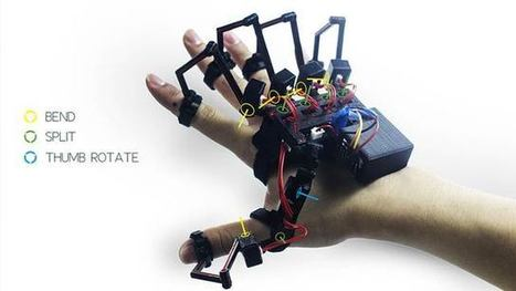 This Glove Will Let You Touch and Feel Virtual Reality Worlds - Gizmodo UK | Immersive World Technology | Scoop.it