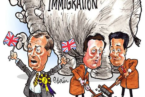 Immigration No1 issue when MPs canvass on doorstep , their responce , reluctent to act for fear of being a racist | The Indigenous Uprising of the British Isles | Scoop.it