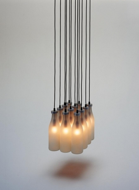 Milkbottle Lamp | Tejo Remy & René Veenhuizen | Favorite Designer | Scoop.it