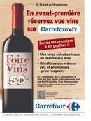 Foire aux vins : Carrefour facilite les commandes sur Internet... à retirer dans 91 drive de l'enseigne | Vin 2.0 | Scoop.it