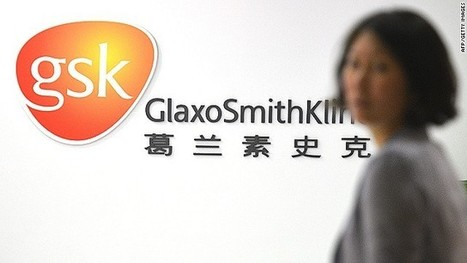 GlaxoSmithKline's China network caught in massive bribery scandal | science | Scoop.it
