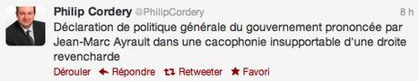 J-M AYRAULT - Réactions en tweets au discours de politique générale | Français à l'étranger : des élus, un ministère | Scoop.it