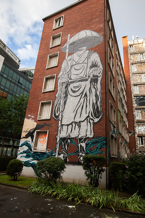 La plus grande expo street art : Tour Paris 13 | WhoTheFuckAreYou | Quand l'art investit la rue | Scoop.it