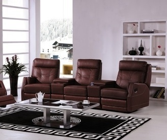APOLLO theatre lounge, 3RR, bonded leather, chocolate | Lounges & Sofa - Imgur | Furniture Stores Melbourne : Living Room Furniture | Scoop.it