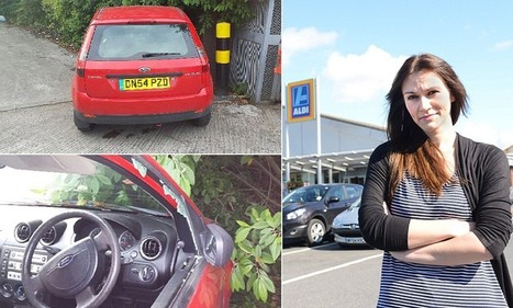 Aldi staff broke into beauty therapist's car and dumped it in a bush | News round the Globe especially unacceptable behaviour | Scoop.it