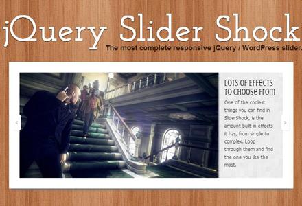 jQuery Slider Shock: The Best Free Responsive Slider Plugin for WordPress | Current Updates | Scoop.it