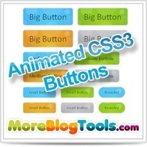 Animated Bubble Buttons Using CSS3   blogging   Scoop.it