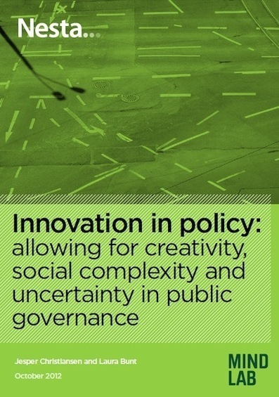 Innovating Policy with Creativity and Social Sciences - Core77 | Creativity and learning | Scoop.it