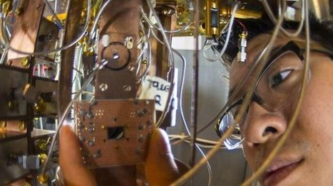 Step forward for quantum computing - BBC News | Knowmads, Infocology of the future | Scoop.it