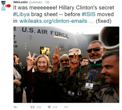 Wikileaks Drops Hillary Email Bomb That Could End Her Campaign but FB Censored It | Censuras | Scoop.it