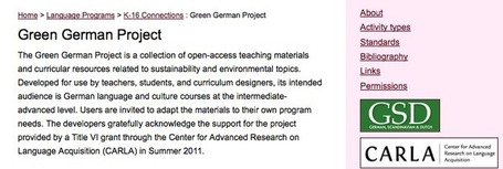 The Green German Project: Bridging the Humanities and Science ... | HASTAC | Scoop.it